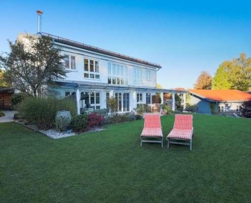 Icking Landhaus / Villa, Außenansicht Kaiser Immobilien