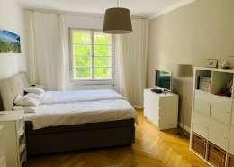 München Neuhausen Wohnung – Schlafzimmer