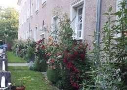 München Neuhausen Wohnung – Garten