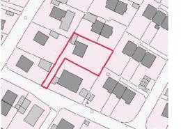 Baugrundstück in Gauting: Lageplan